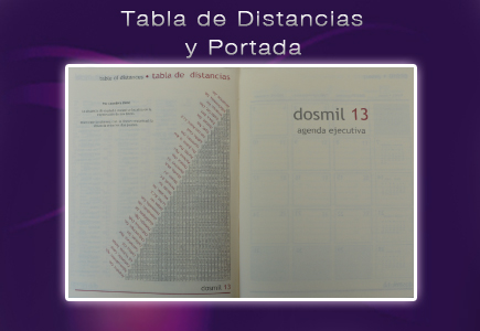tabla de distancias agenda colombiana
